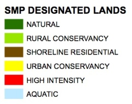 Kitsap County Shoreline Designations